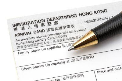 Viisumi Hongkongiin