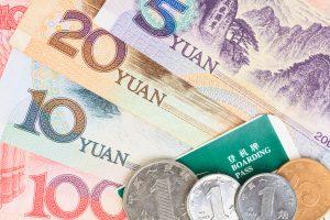 Kiinan valuutta